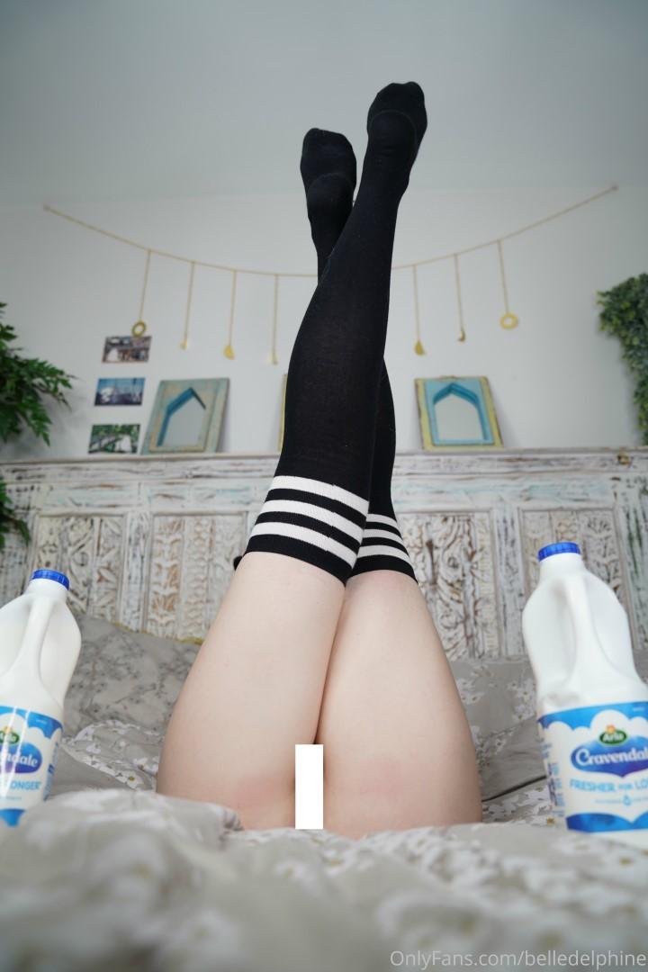 Belle Delphine Lewd Milk Set Onlyfans Leak 0067