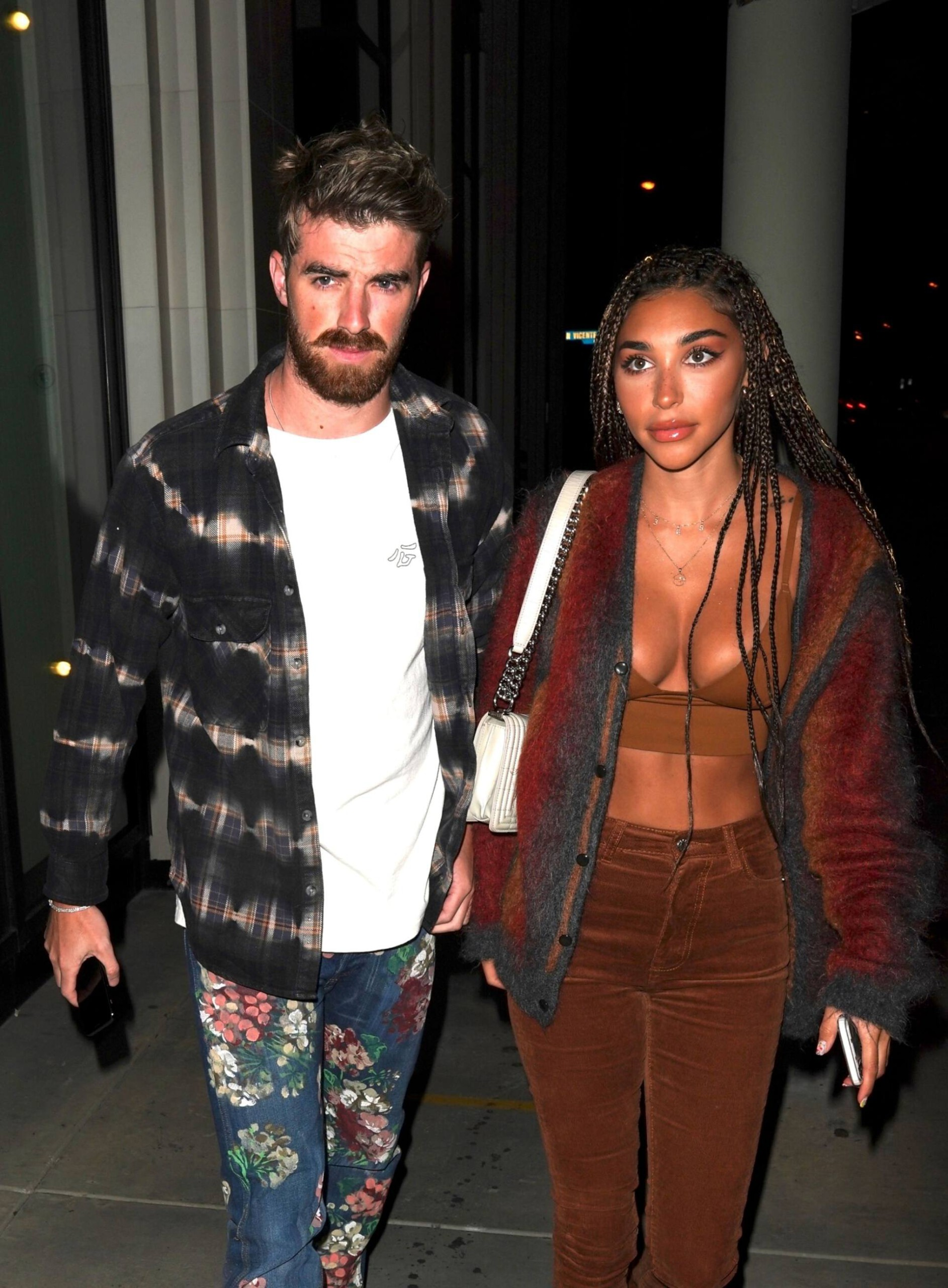 Chantel Jeffries – Sexy Boobs In Big Cleavage At Catch Restaurant In West Hollywood 0001