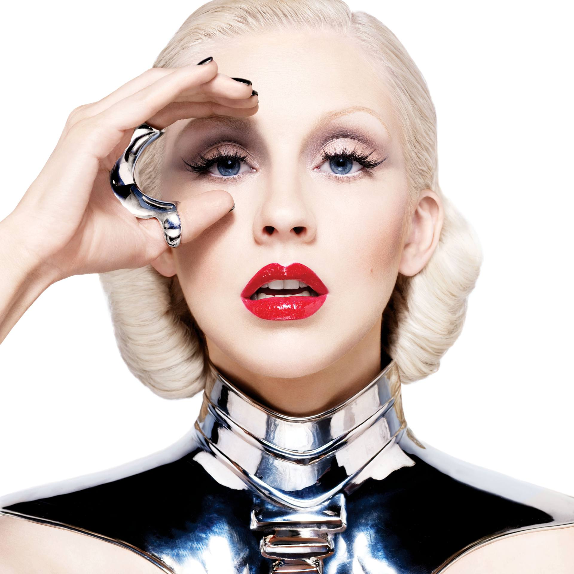 Christina Aguilera – Sexy Boobs In Naked Photoshoot Outtakes From Bionic Album Photoshoot 0018
