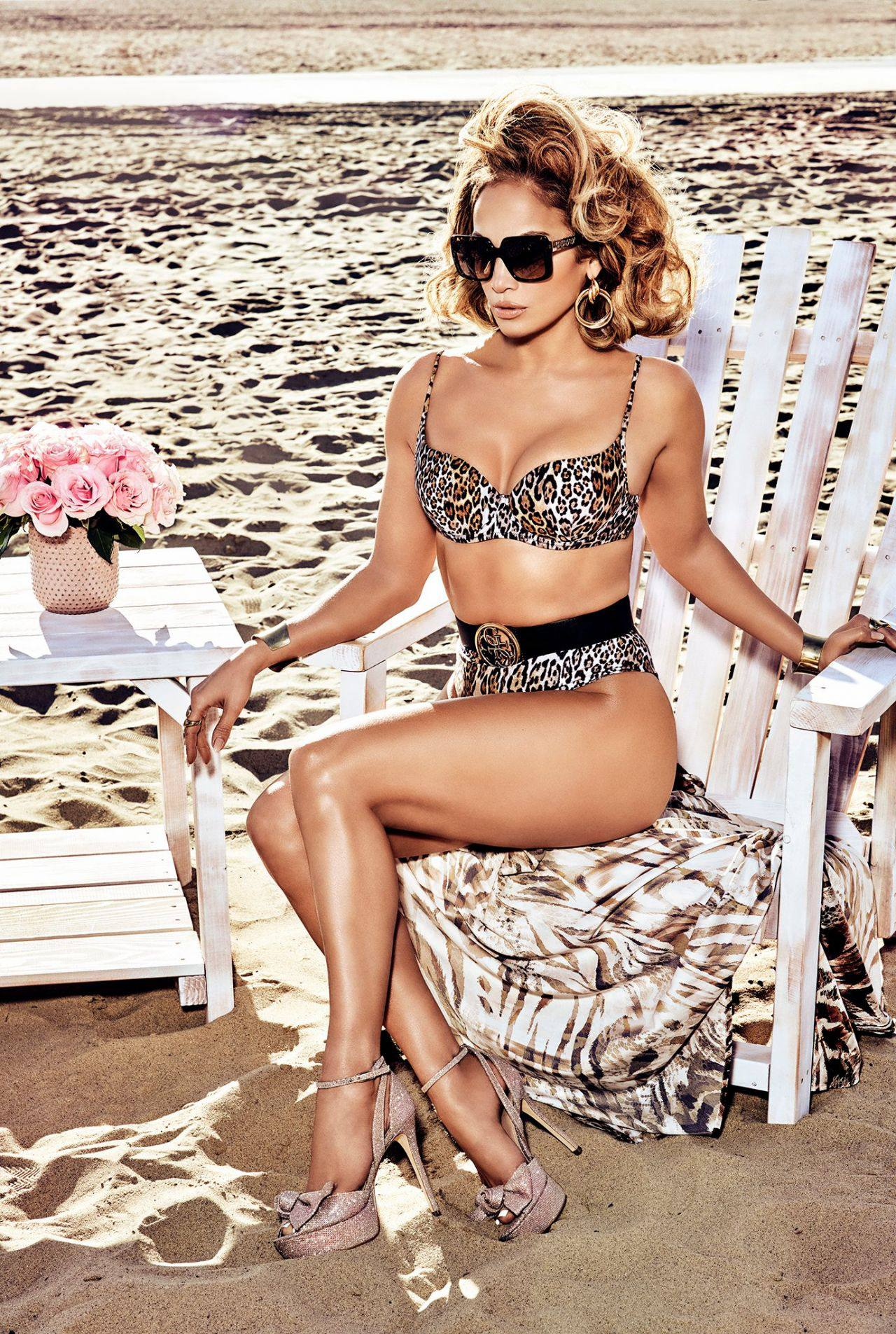 Jennifer Lopez – Sexy Boobs And Legs In Beautiful Photoshoot For Guess Spring Summer 2020 Campaign 0001
