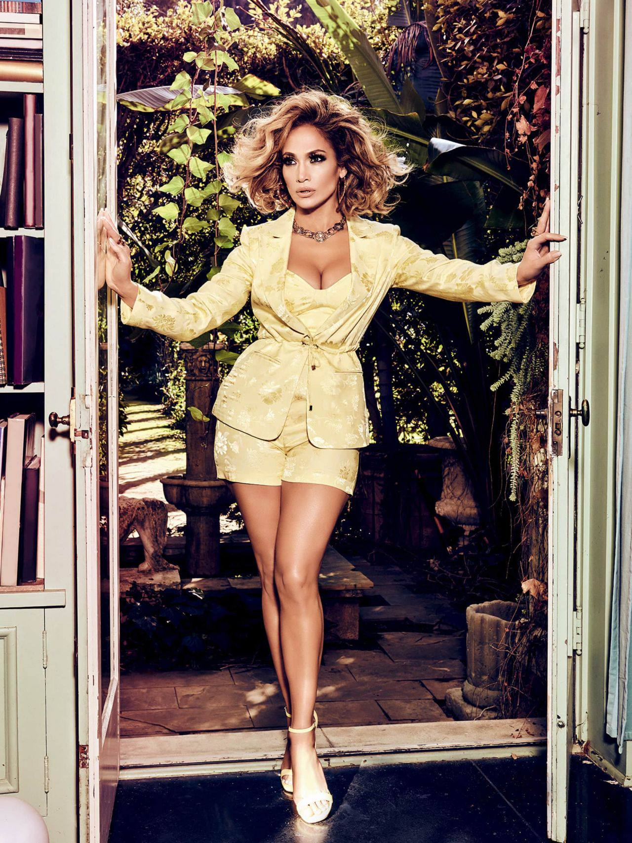 Jennifer Lopez – Sexy Boobs And Legs In Beautiful Photoshoot For Guess Spring Summer 2020 Campaign 0005
