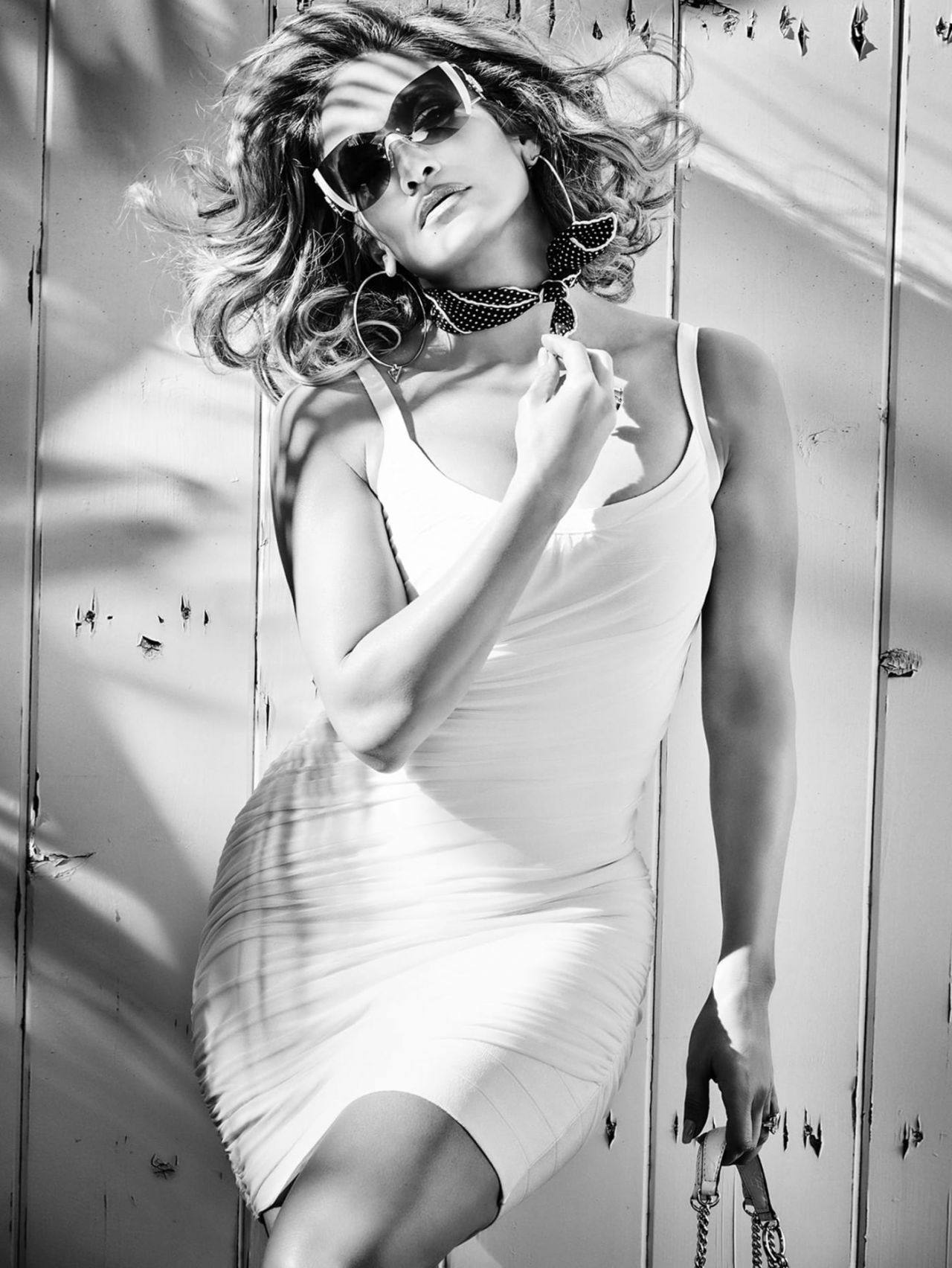 Jennifer Lopez – Sexy Boobs And Legs In Beautiful Photoshoot For Guess Spring Summer 2020 Campaign 0007