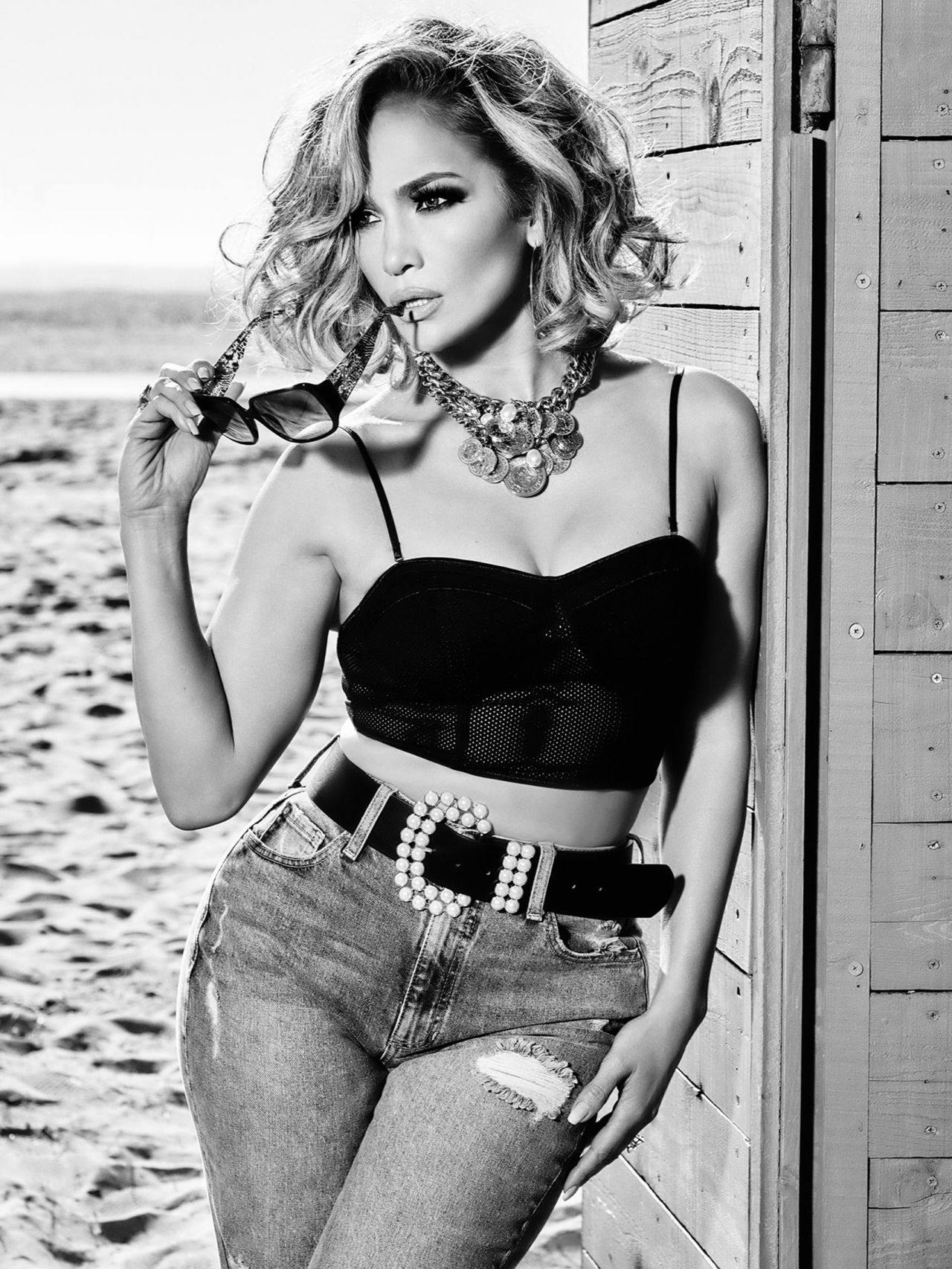 Jennifer Lopez – Sexy Boobs And Legs In Beautiful Photoshoot For Guess Spring Summer 2020 Campaign 0008
