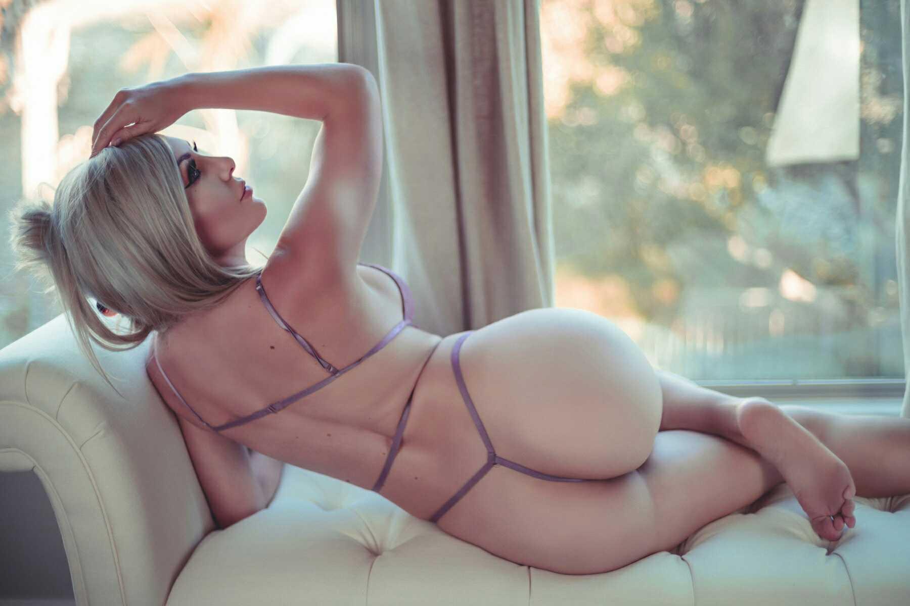 Jessica Nigri, Onlyfans Lavender Lingerie 0050