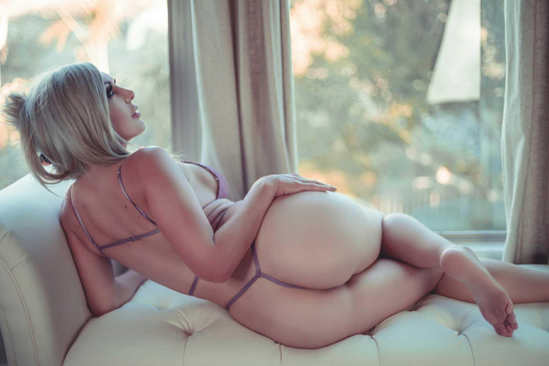 Jessica Nigri, Onlyfans Lavender Lingerie 0051