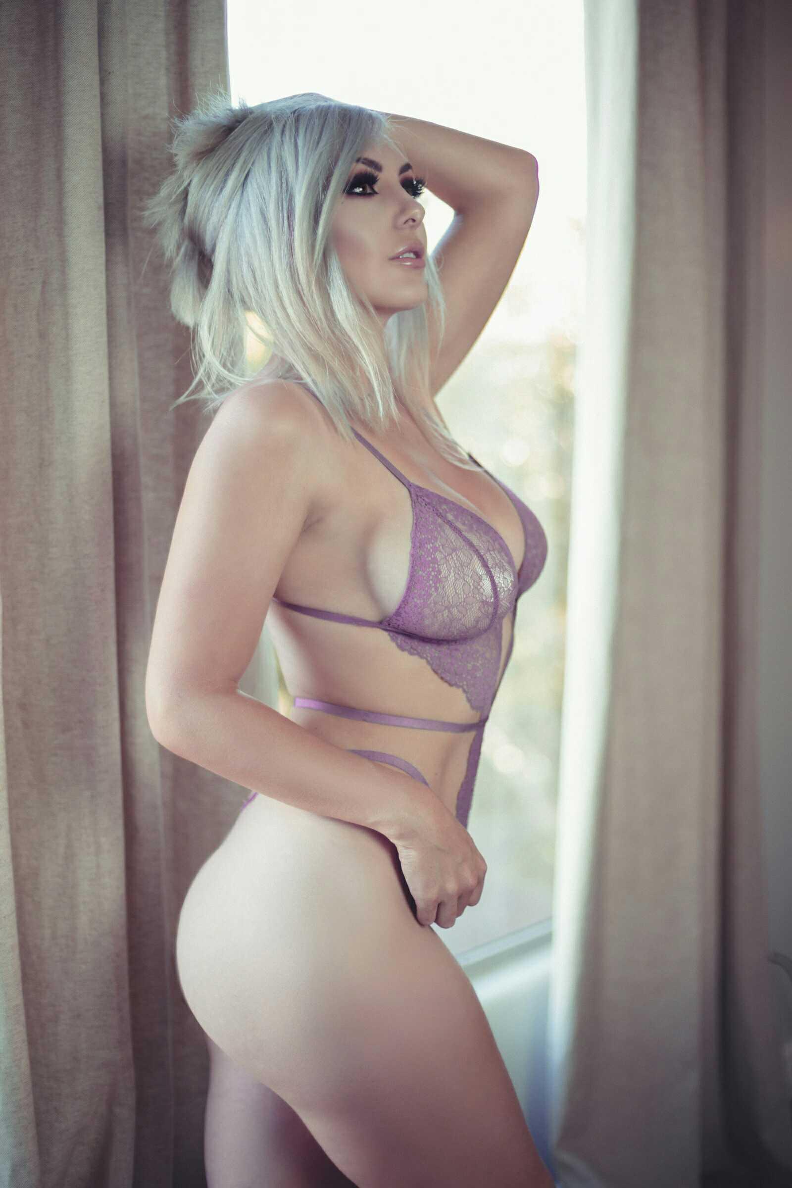 Jessica Nigri, Onlyfans Lavender Lingerie 0064