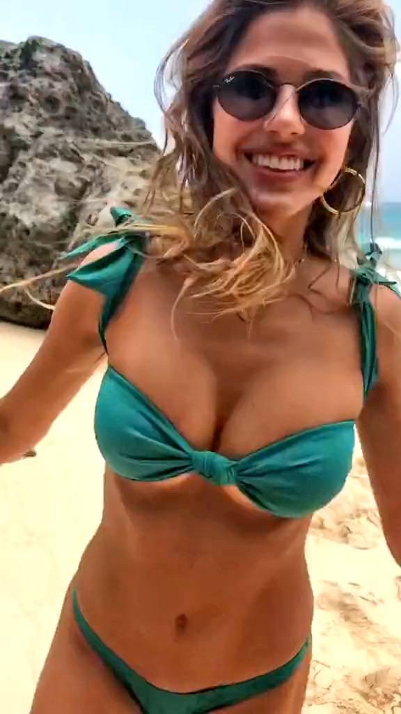 Kara Del Toro – Hot Body In Small Bikini On The Beach (tiktok Video) 0007