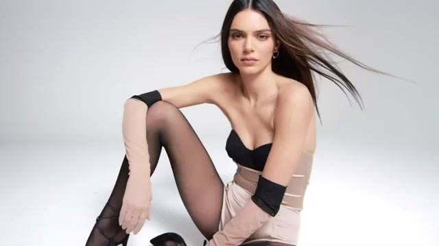 Kendall Jenner – Sexy Boobs In Kendall X Kylie Cosmetics Promo Video 0001