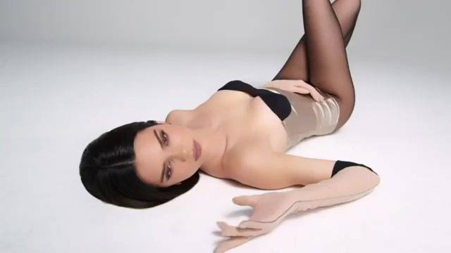Kendall Jenner – Sexy Boobs In Kendall X Kylie Cosmetics Promo Video 0015