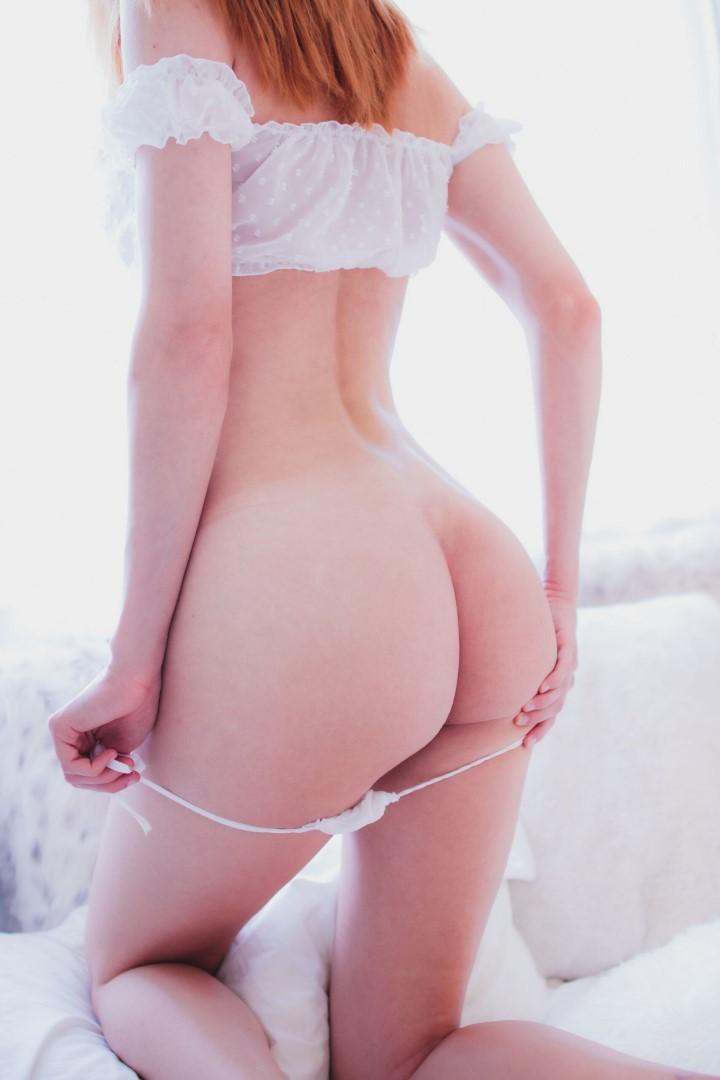 Madison Kate Patreon White Lingerie0045