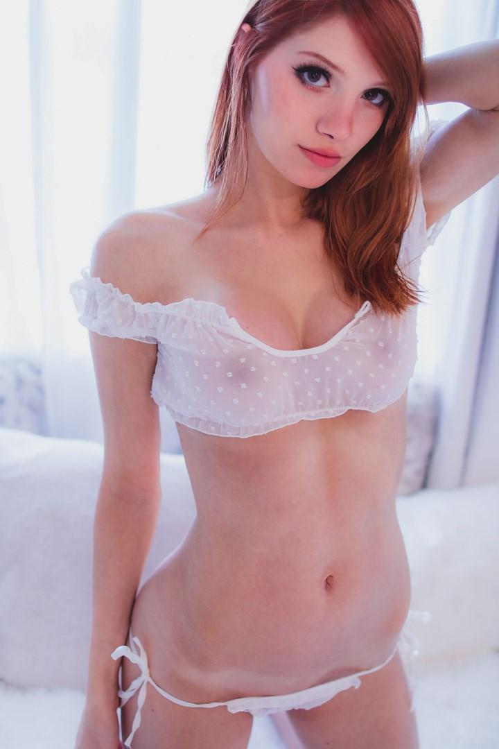Madison Kate Patreon White Lingerie0053