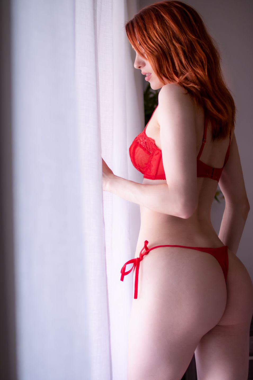 Madison Kate Red Lingerie 0002