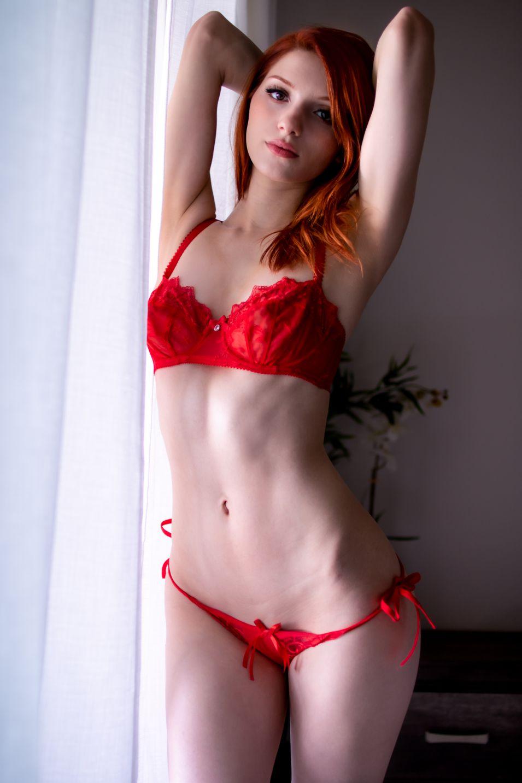 Madison Kate Red Lingerie 0003