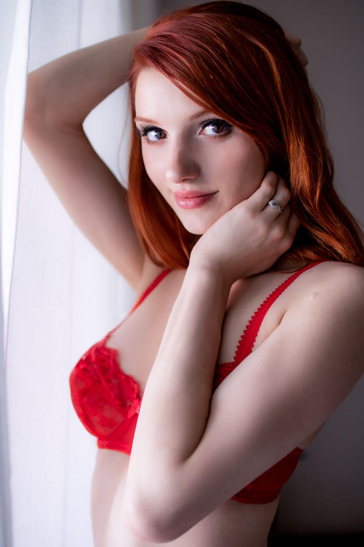 Madison Kate Red Lingerie 0004