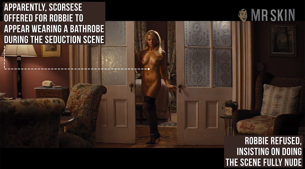 Margot Robbie Full Frontal Nude Scene