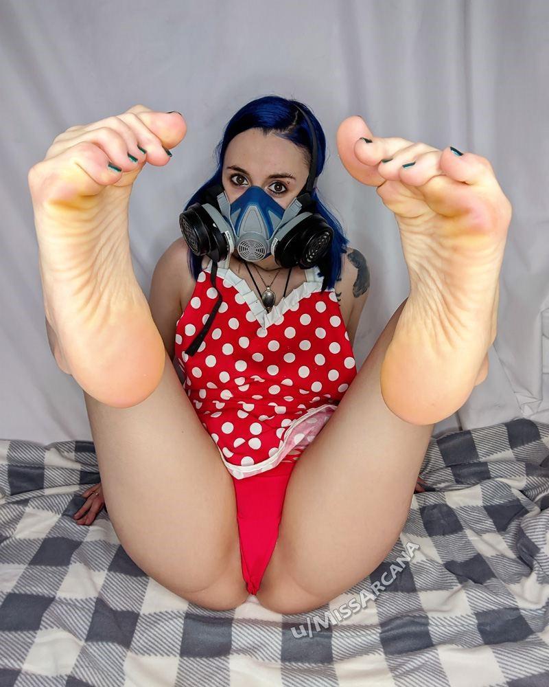 Missarcana Onlyfans Nude Feet Fetish Video 0082
