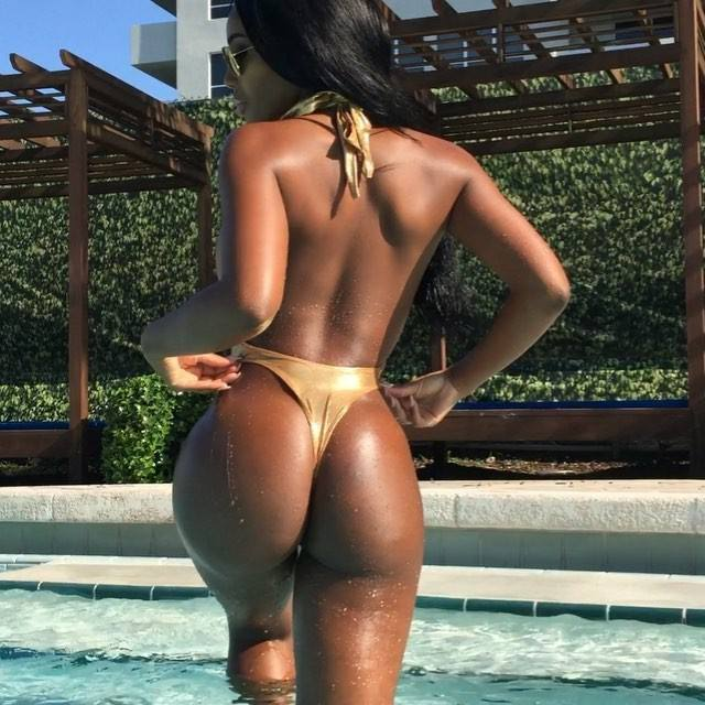 Monifa Jansen – Beautiful Boobs And Ass In Hot Instagram Pictures 0019