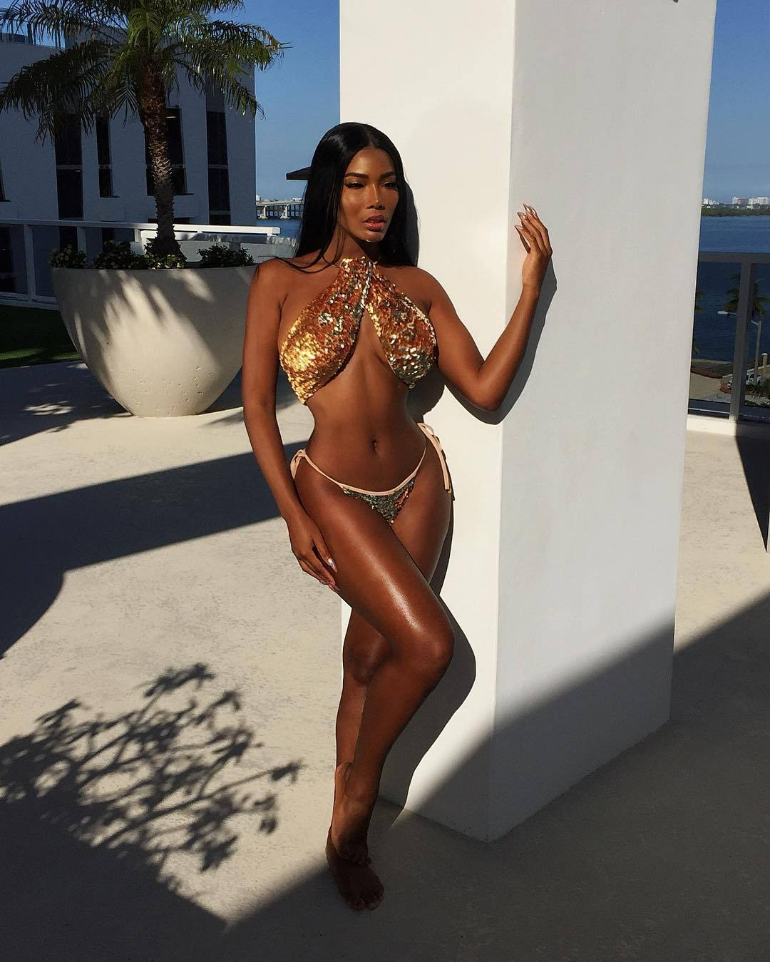 Monifa Jansen – Beautiful Boobs And Ass In Hot Instagram Pictures 0047