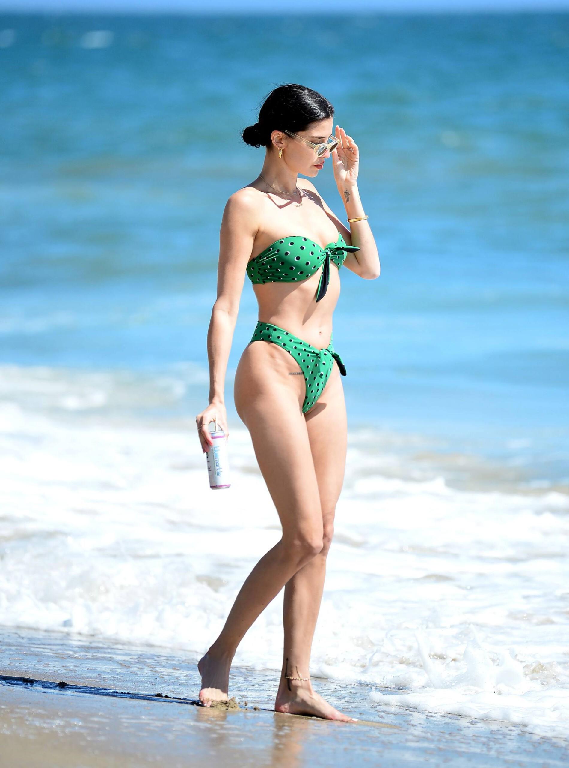 Nicole Williams – Fantastic Body In Skimpy Bikini At The Beach In Malibu 0003
