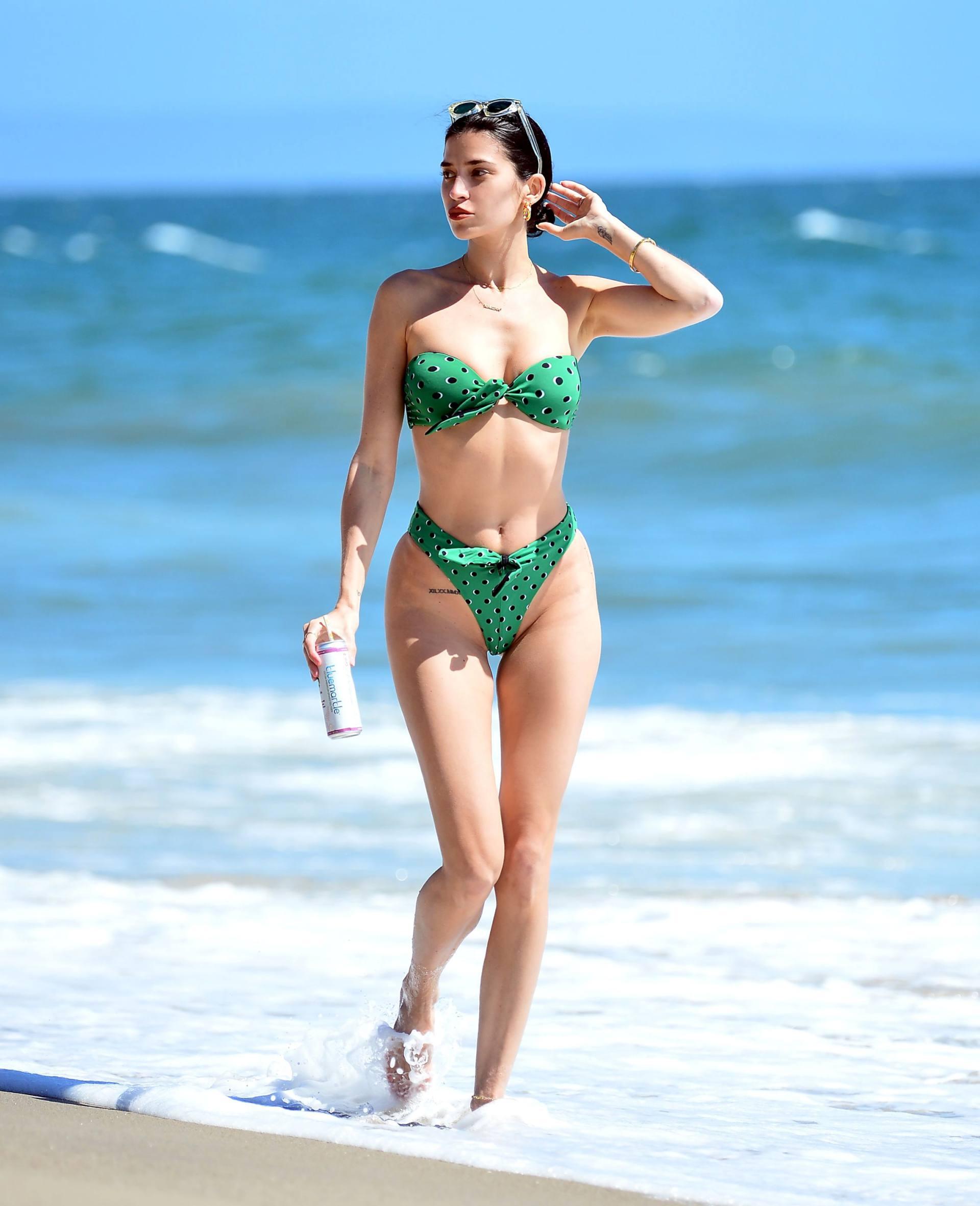 Nicole Williams – Fantastic Body In Skimpy Bikini At The Beach In Malibu 0010