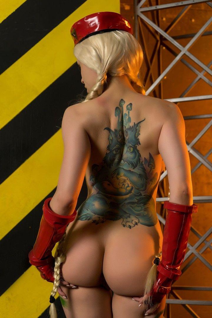 Octokuro, Patreon Cammy Nude Cosplay0001