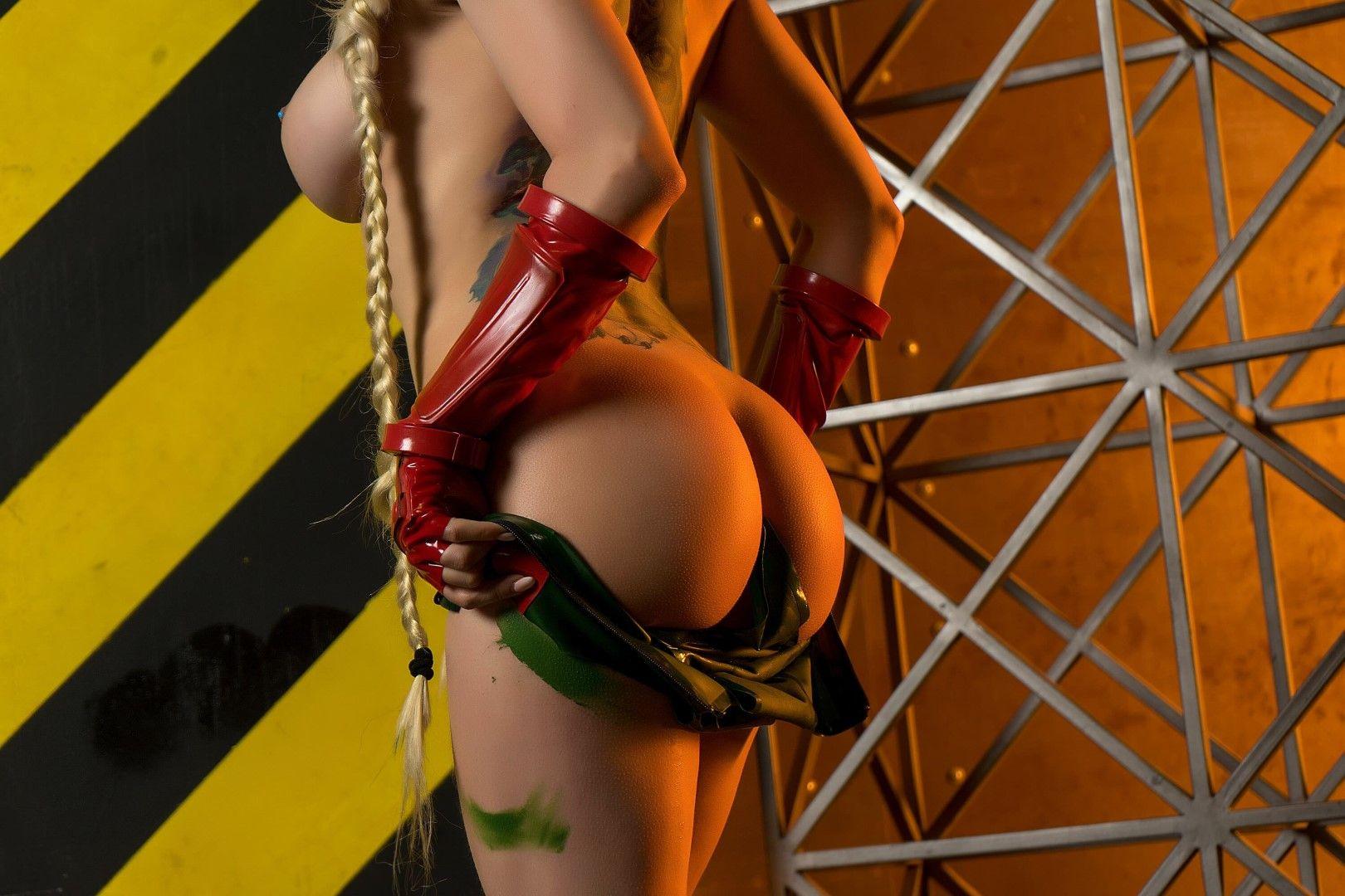 Octokuro, Patreon Cammy Nude Cosplay0019