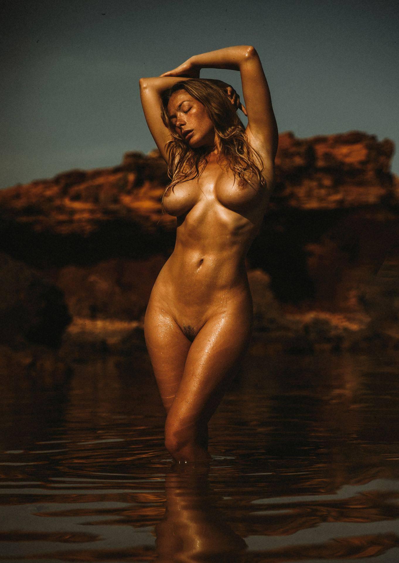 Olga Kobzar – Hot Big Boobs In Sexy Full Frontal Nude Photoshoot By Thomas Agatz (nsfw) 0001