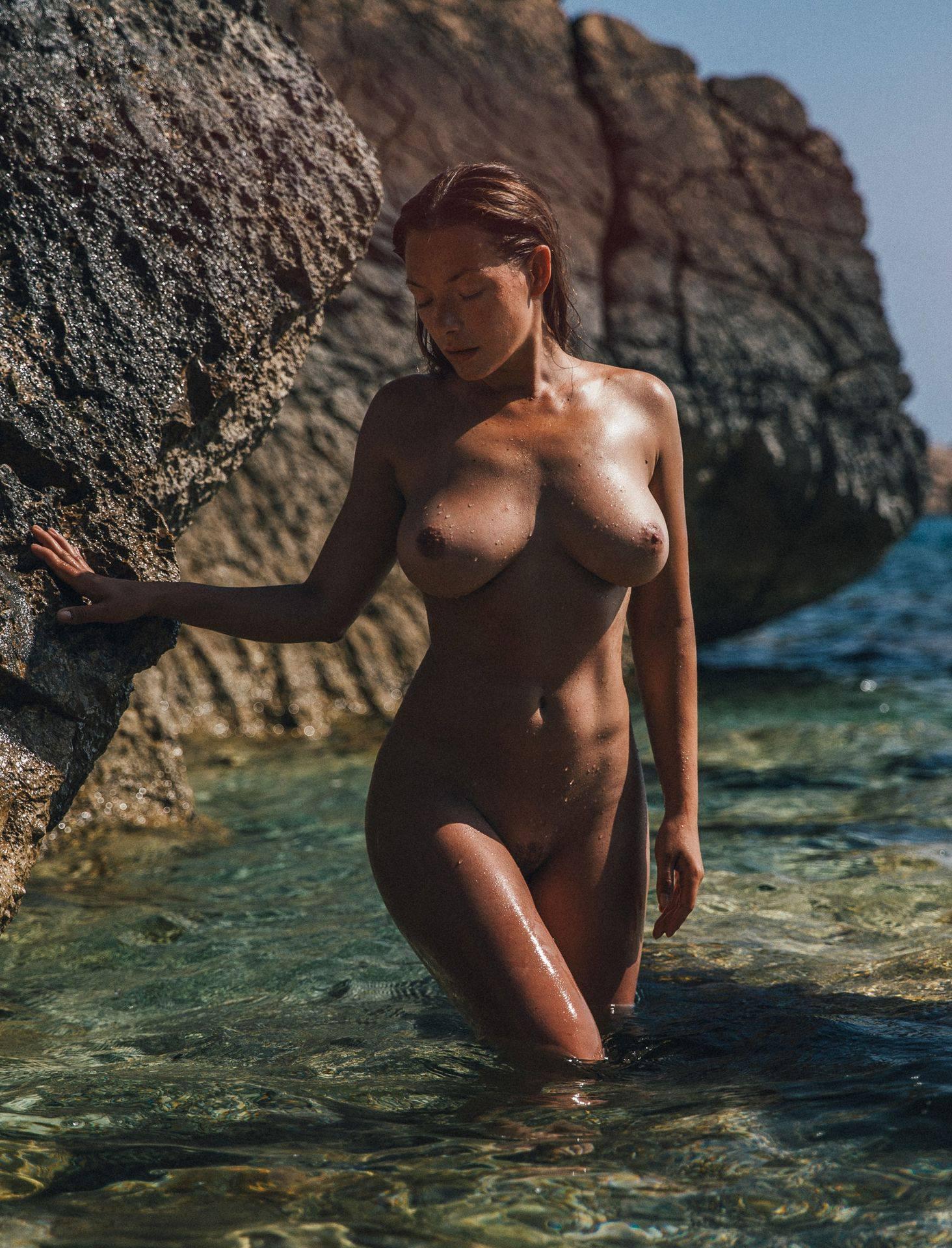 Olga Kobzar – Hot Big Boobs In Sexy Full Frontal Nude Photoshoot By Thomas Agatz (nsfw) 0020