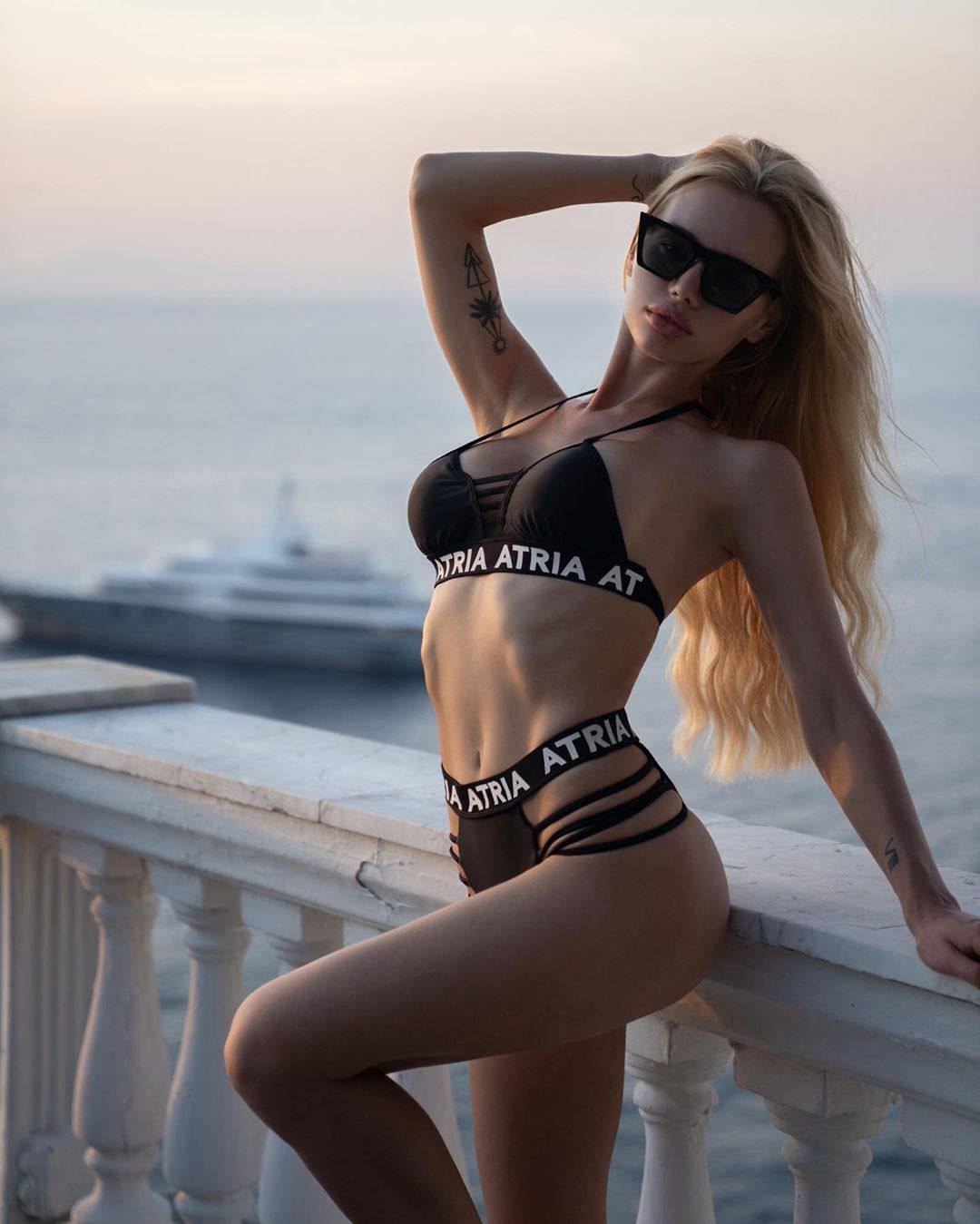 Olya Abramovich – Hot Boobs In Topless Beach Photoshoot (nsfw) 0041