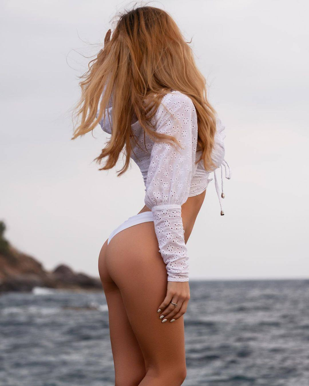 Olya Abramovich – Hot Boobs In Topless Beach Photoshoot (nsfw) 0048