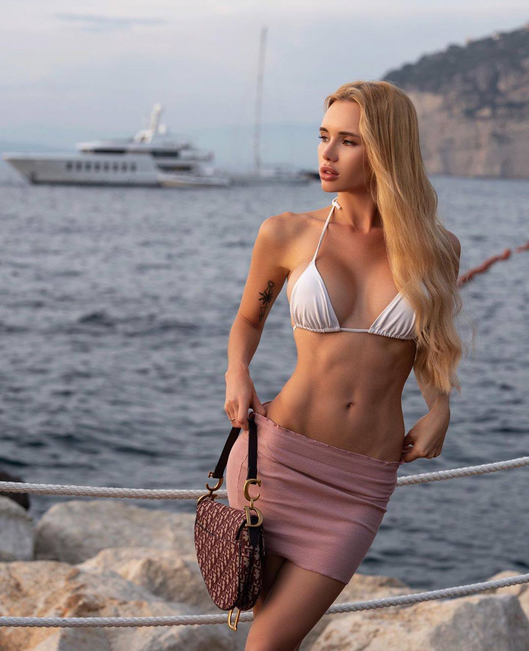 Olya Abramovich – Hot Boobs In Topless Beach Photoshoot (nsfw) 0056