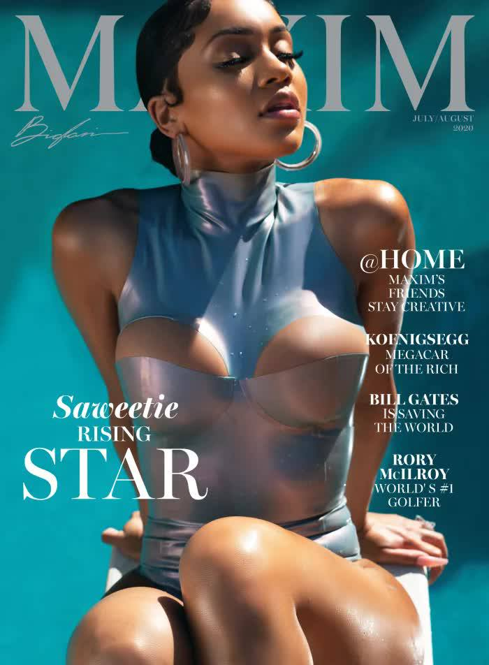 Saweetie – Hot Boobs In Sexy Photoshoot For Maxim Magazine (july August 2020) 0001