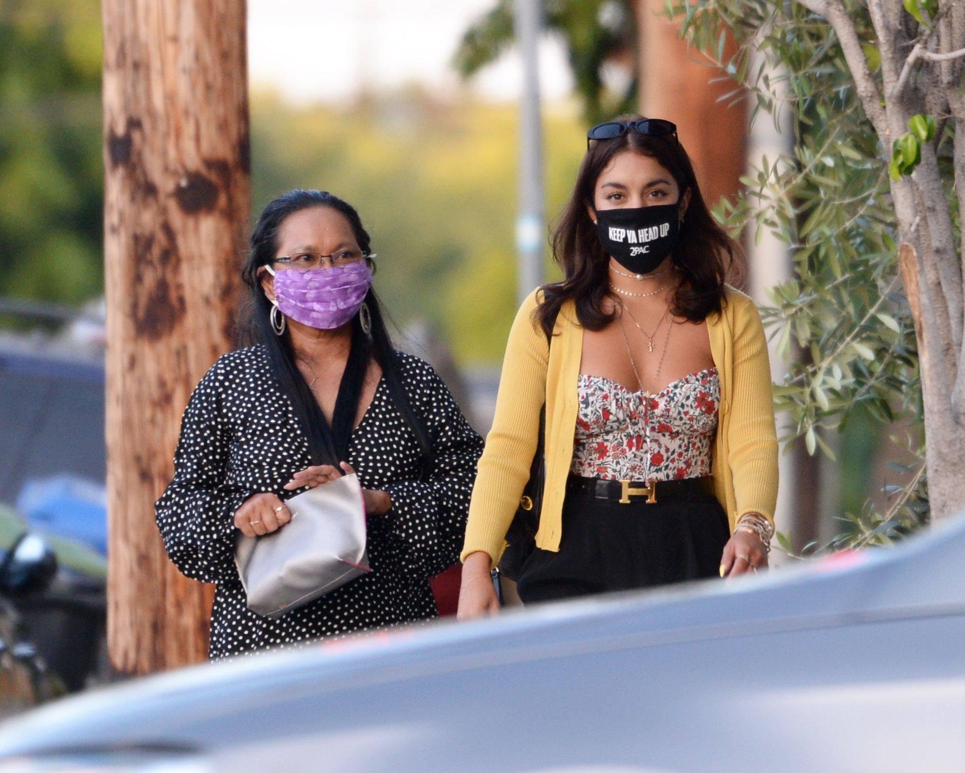 Vanessa Hudgens – Sexy Boobs And Ass At Farfalla In Los Angeles 0003