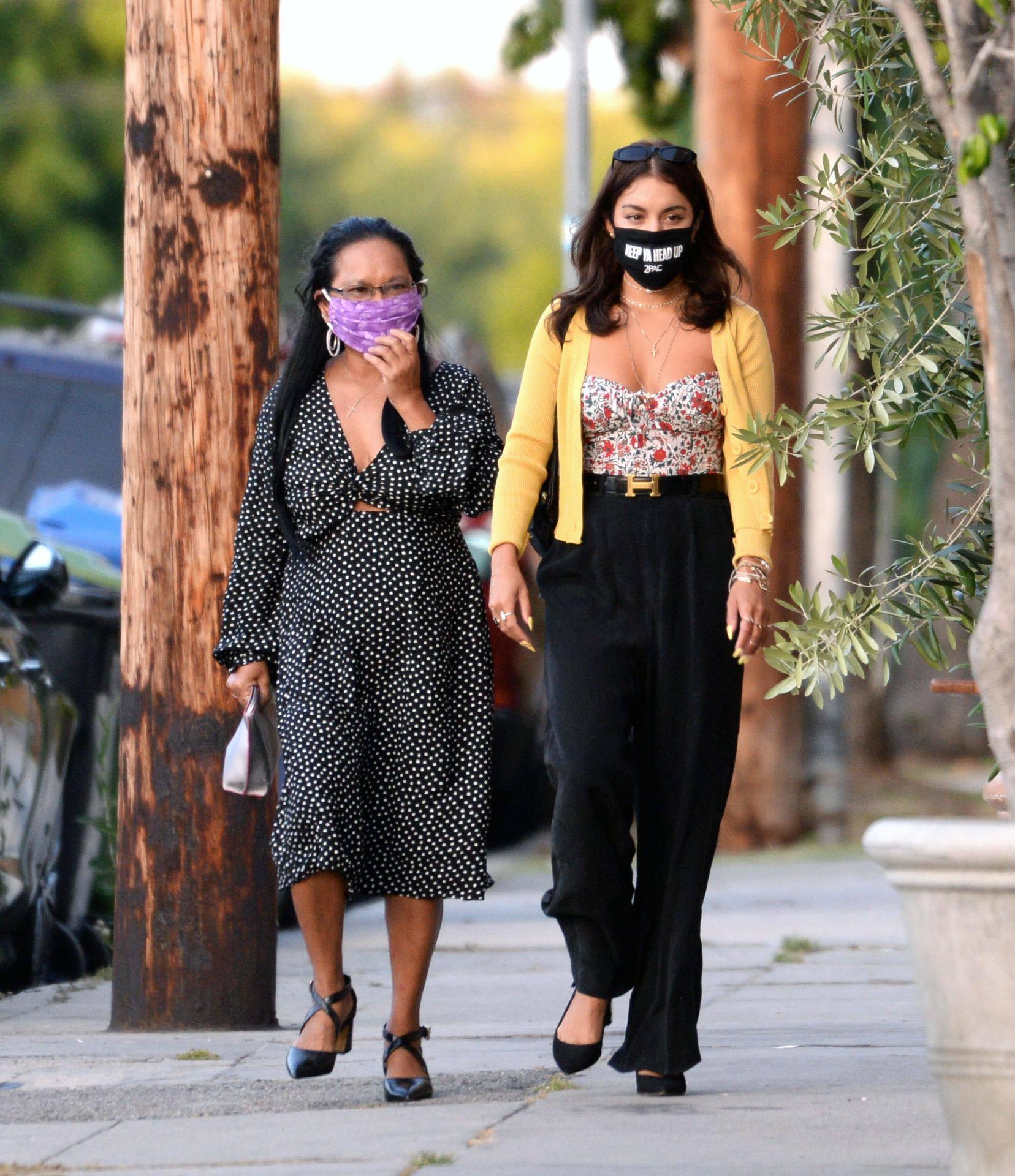 Vanessa Hudgens – Sexy Boobs And Ass At Farfalla In Los Angeles 0010