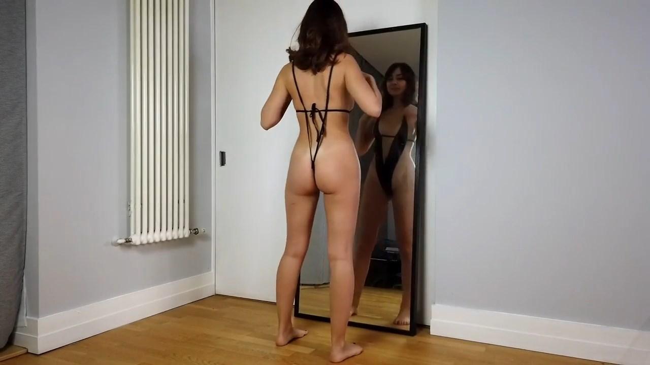 Youtuber Anna Zapala Micro Bikini Patreon Video 25