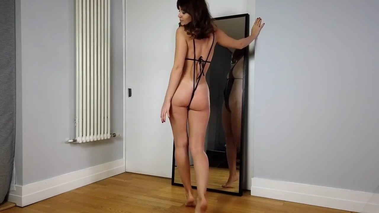 Youtuber Anna Zapala Micro Bikini Patreon Video 27