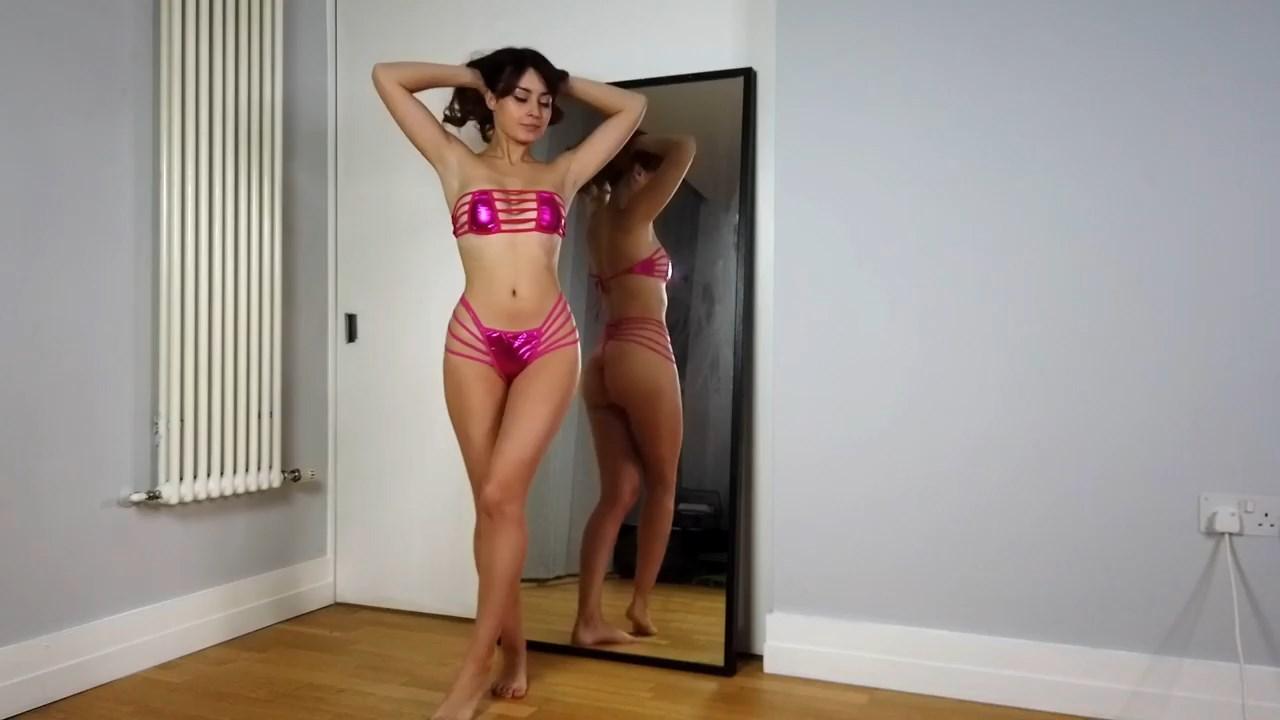 Youtuber Anna Zapala Micro Bikini Patreon Video 4