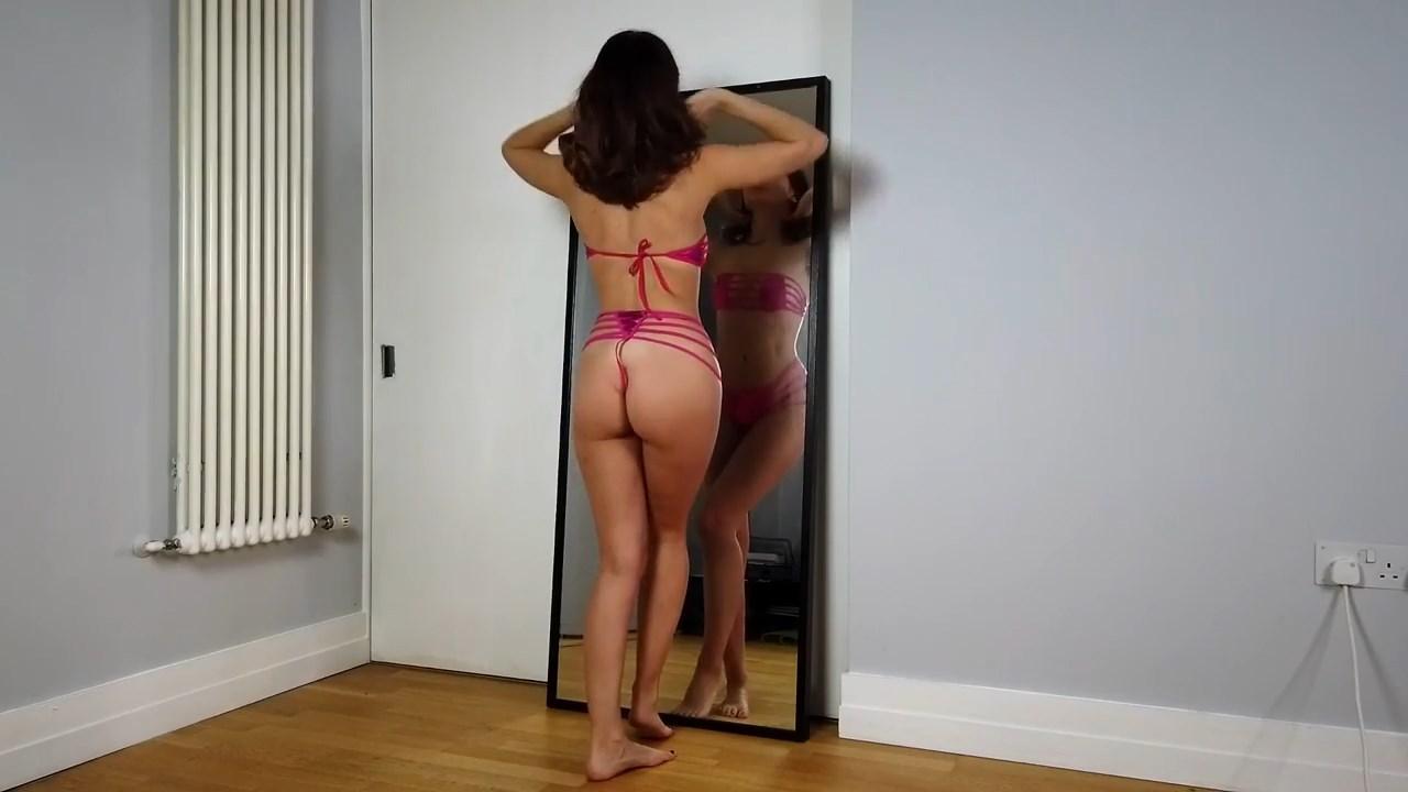 Youtuber Anna Zapala Micro Bikini Patreon Video 6