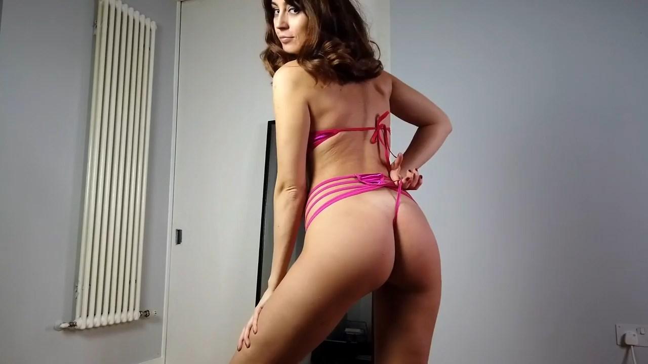 Youtuber Anna Zapala Micro Bikini Patreon Video 9
