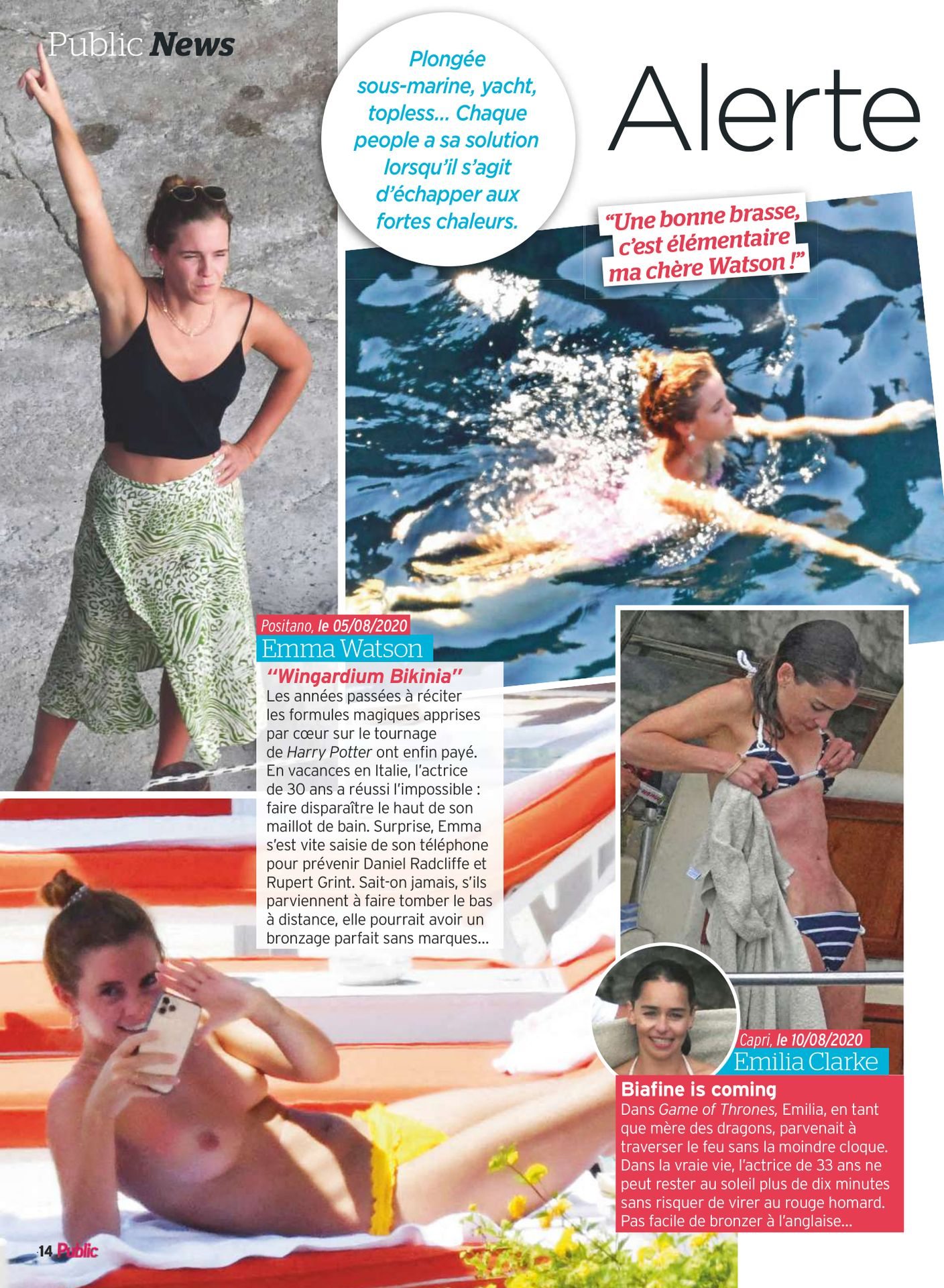 Emma Watson's Nude Leak From Her Holiday In Italy 0002