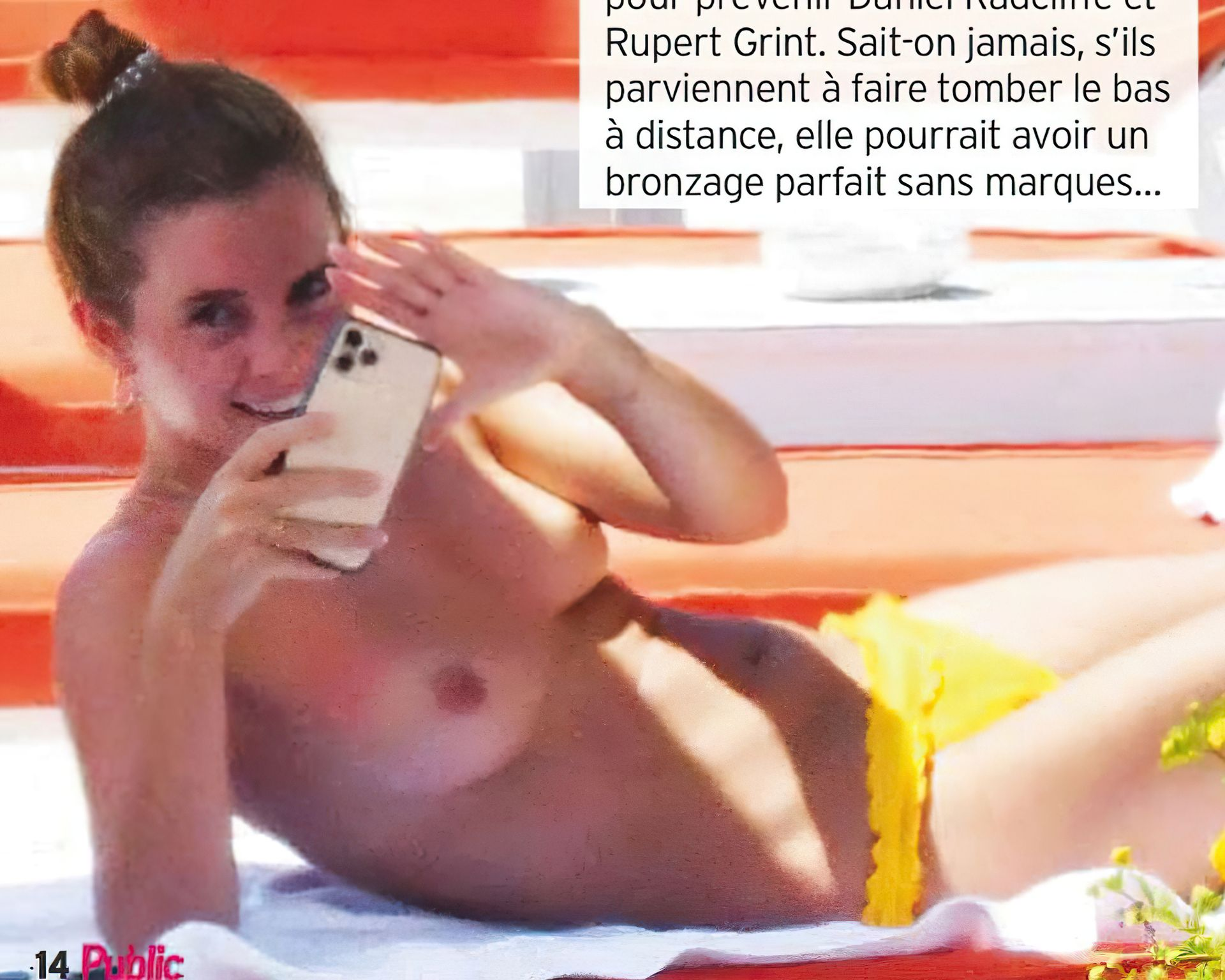 Emma Watson's Nude Leak From Her Holiday In Italy 0004
