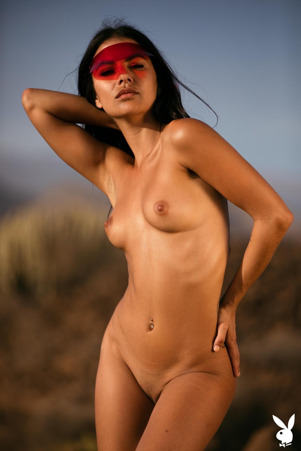 Estefania Pahe In Solar Power Playboy Plus (13)