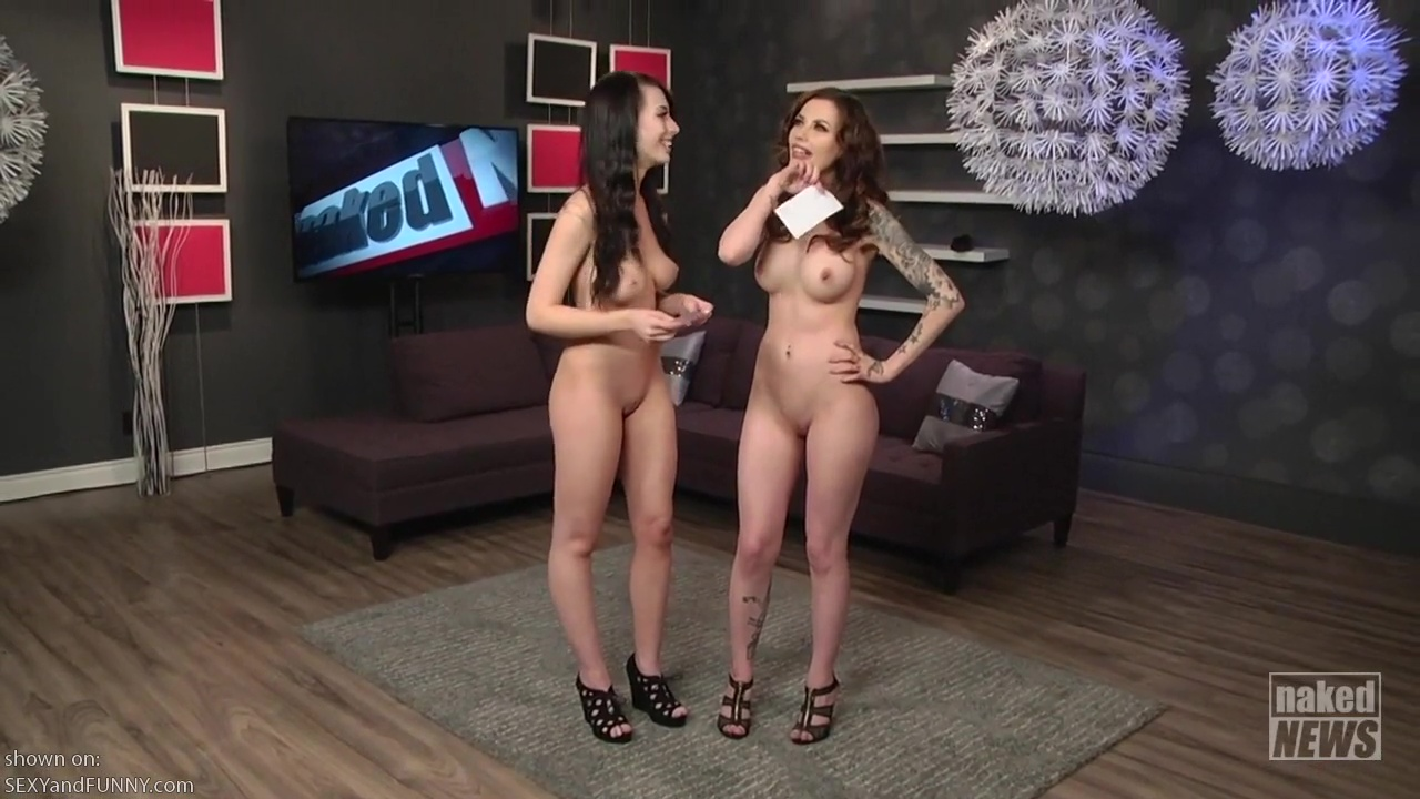 Vera Bambi Nude Interview On Naked News Video