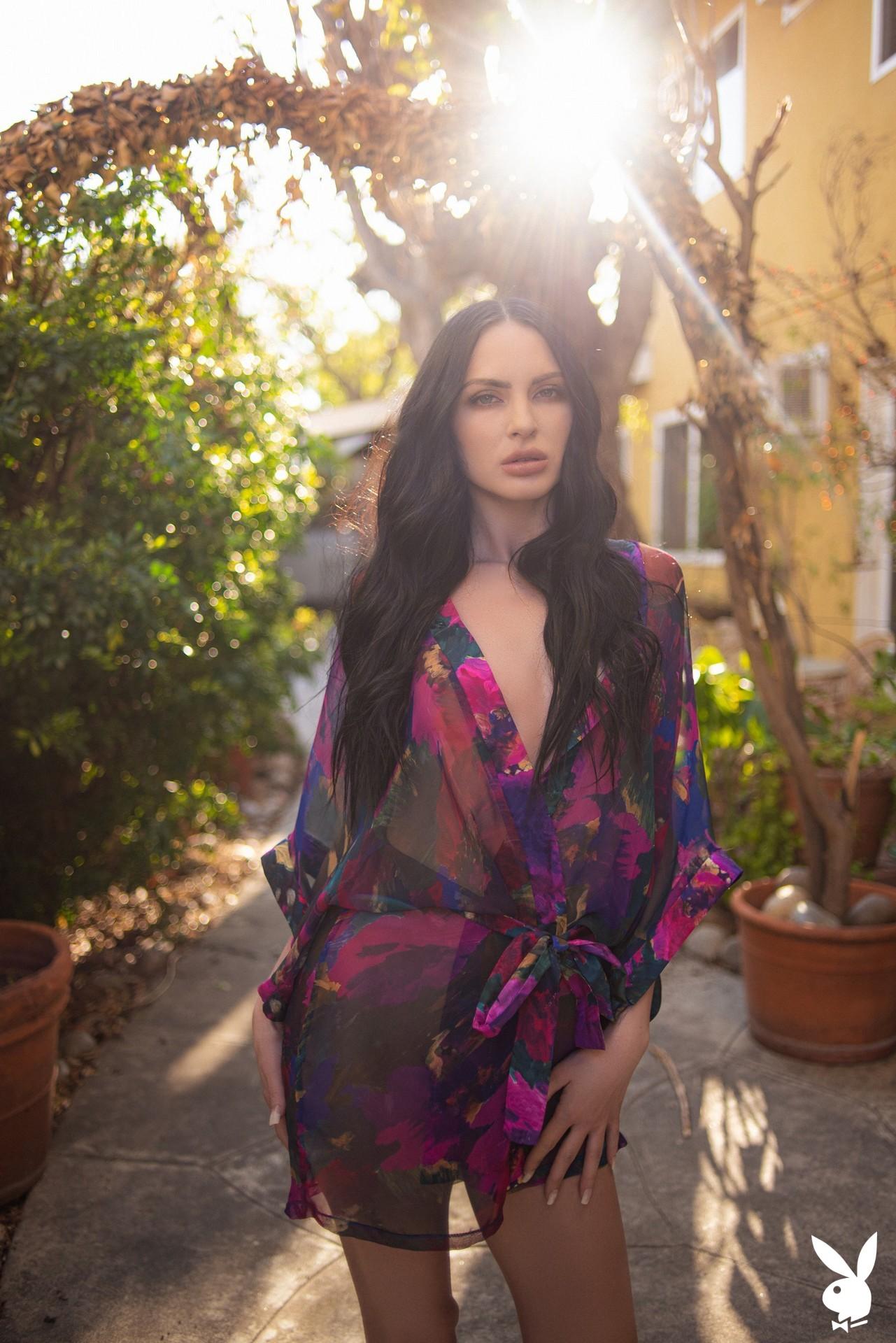 Carissa White In Glamour Garden Playboy Plus (1)