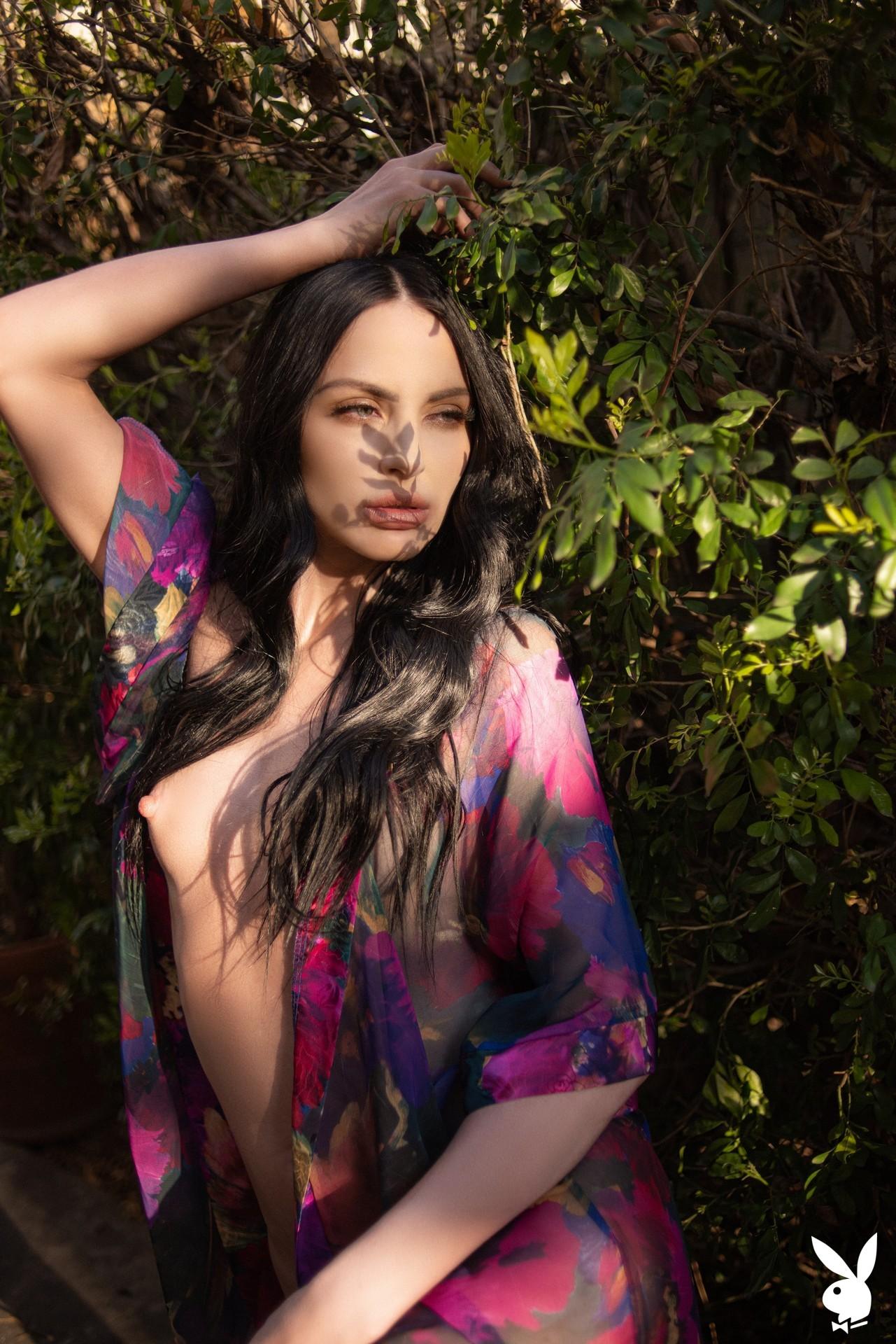 Carissa White In Glamour Garden Playboy Plus (21)