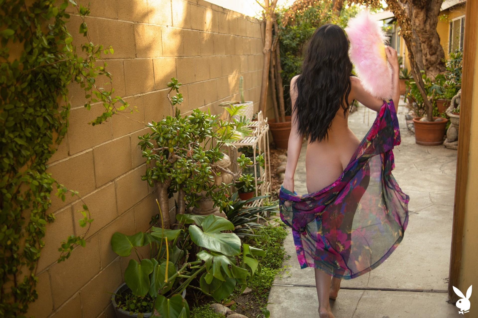 Carissa White In Glamour Garden Playboy Plus (26)