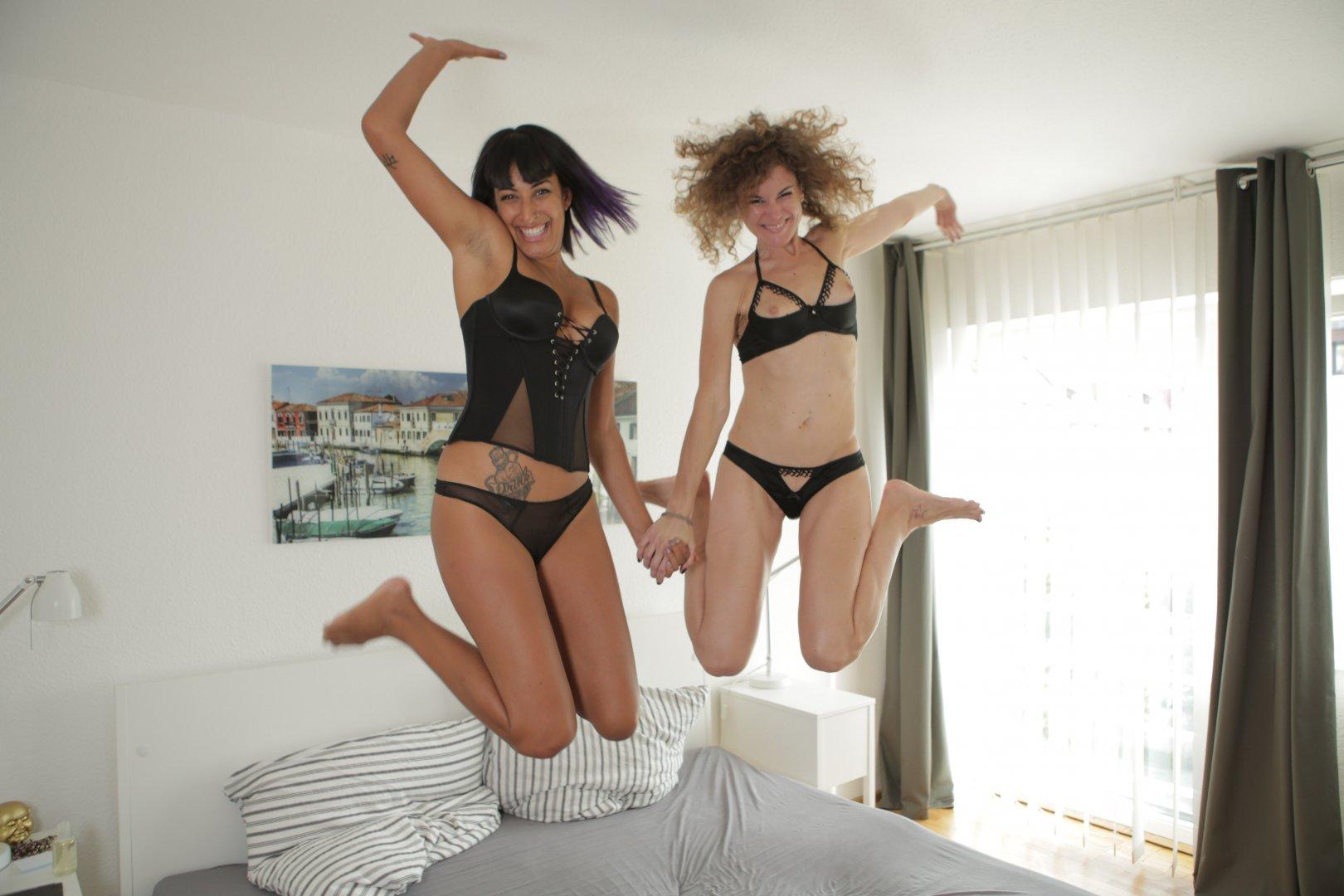 Ersties.com Foreplay With Kali And Bruna