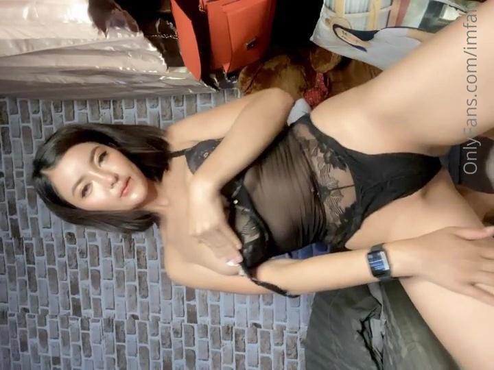 Im Faii Nude Black Lingerie Teasing Video Leaked