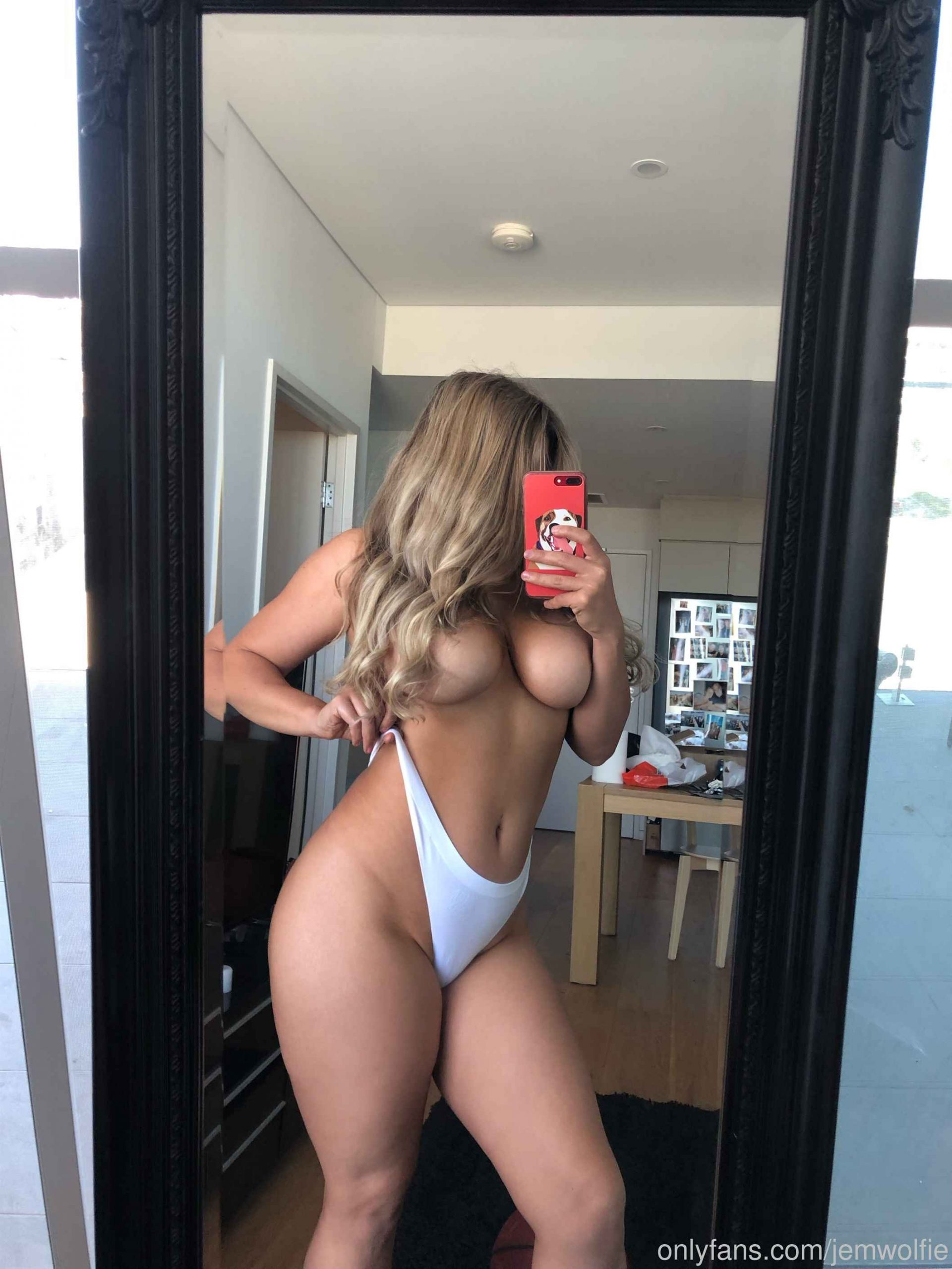 Jem Wolfie Nude Shower Onlyfans Photos Leaked 0028