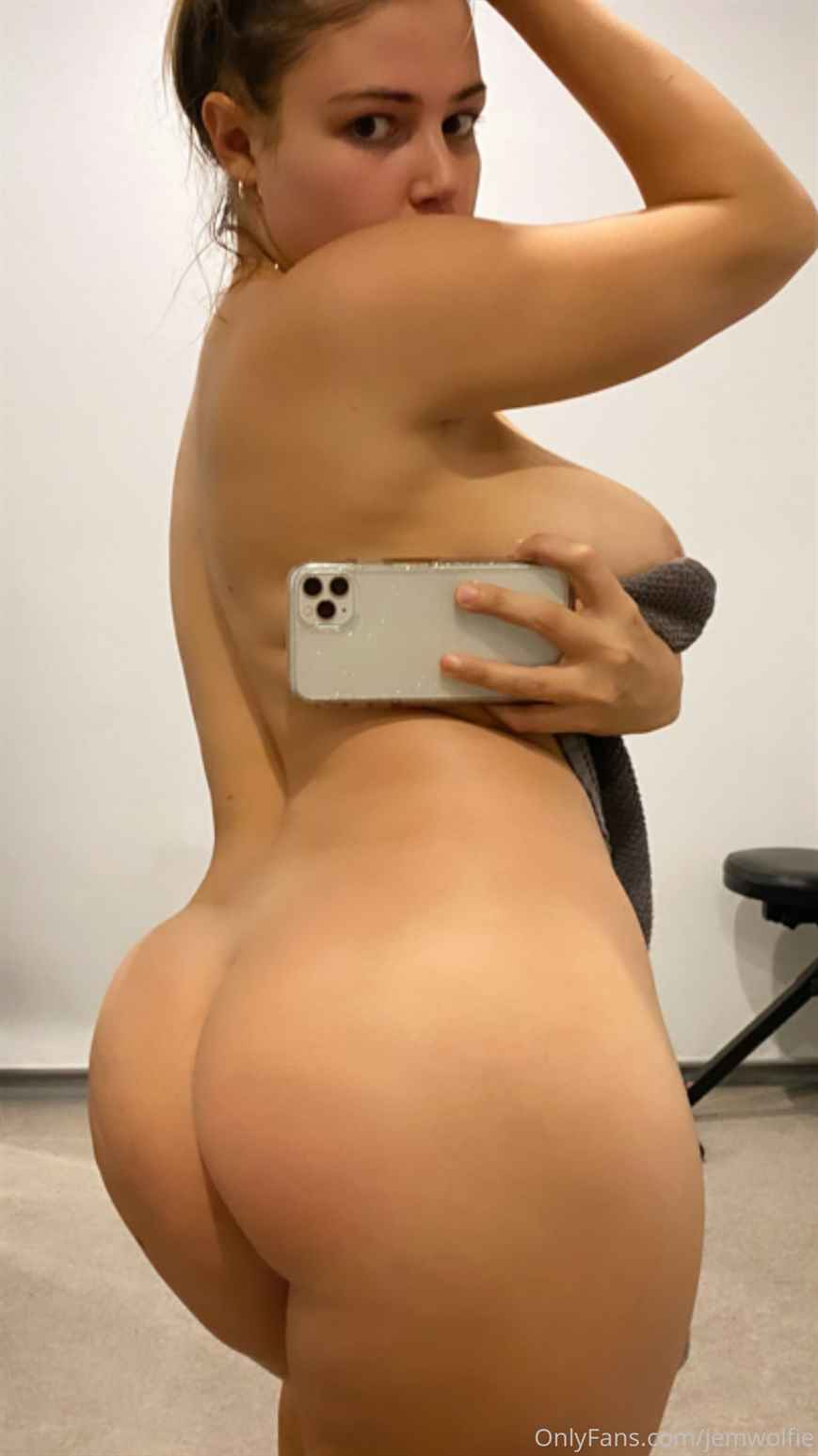 Jem Wolfie Nude Shower Onlyfans Photos Leaked 0036